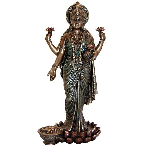 Lakshmi Standing Statue  10 25HLakshmi Statue