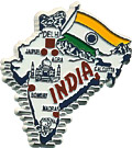 India Country Map Magnet