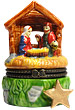 Nativity with Stable Scene - Porcelain Trinket Box