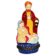 Baby Jesus Nativity Scene - Porcelain Trinket Box