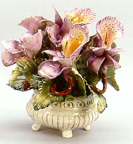 9 Purple Orchid Basket,Spider Plants Roots