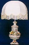 25  Beige Lamp w/Shade