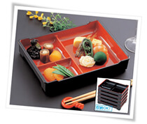 bento tray food presentaion photos of japanese cuisine. Black Bedroom Furniture Sets. Home Design Ideas