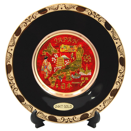 Japanese Icons Theme 6 Quot Chokin Plate
