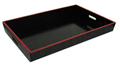 Ex-Large Wood Tray w/ Handles, 23.5x 17.5x 2