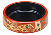 Red/Black Sushi Serving Platter, 7 D