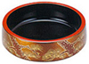 Gold/Black Sushi Serving Platter, 7 D