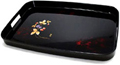 Japanese Rectangular Lacquer Tray with Handles - Strawberries, 19 L