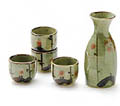 Sake Set - 1&4, Japanese Plum (Ume)