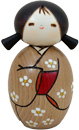 Kokeshi Doll, Anticipating Spring 4 H