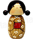 Kokeshi Doll, Anticipating Spring 5.8 H