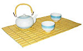Bamboo Placemat, Natural Yellow
