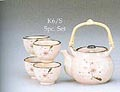 1&4, Japanese Tea Set, Pink, 24 oz