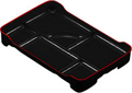 Lunch Plate, Large Black Bento Tray, 14x9.25