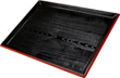 Japanese Black Lacquered Tray, 15 x 11