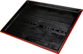 Black Japanese Lacquer Tray, 17.5 x 13