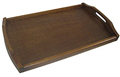 Wooden Serving Tray with Handles - 18x10.5