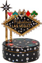 Fabulous Las Vegas Sign - Enamel Jeweled Trinket Box