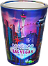 Las Vegas Skyline Shot Glass, Metallic