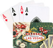 Las Vegas Playing Cards, Green Retro