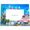 Souvenir Las Vegas Photo Frame in Glass, 6 x4