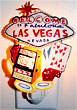 Las Vegas Welcome Sign Souvenir Night Light - 6 L
