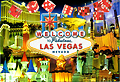 Welcome To Las Vegas Postcard, Large 5L x 7W