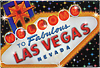 Las Vegas Sign Rectangular Magnet