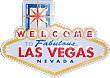Welcome To Las Vagas Sign Fridge Magnet, Metal