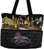 Las Vegas Neon Sign Tote - Canvas Bag