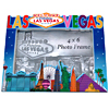 Las Vegas Skyline Photo Frame, 4x6