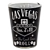 Las Vegas Shot Glass, Black Whisky