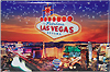 Las Vegas Strip Photo Magnet
