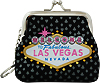 Las Vegas Nevada Sequins Coin Purse