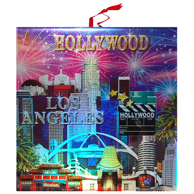 Los Angeles Hollywood Souvenir Trivet