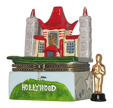 Hollywood Trinket Box Tcl Chinese Theatre Souvenir