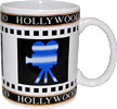 Hollywood Souvenir Movie Director's Coffee Mug, White