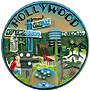 Hollywood Mini Plaque - 3D Magnet