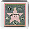 Hollywood Walk of Fame - Acrylic Magnet