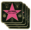 Hollywood Walk of Fame Coaster Set