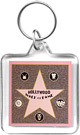 Hollywood Star Key Chain