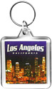 Los Angeles City Lights Acrylic Key Chain