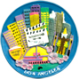 Los Angeles Mini Plaque - 3D Magnet