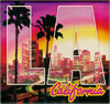 Los Angeles Souvenir Downtown LA Acrylic Magnet