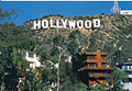 Hollywood Sign Postcard, 4.5L x 6.5W