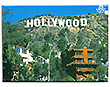 Hollywood Sign Photo Magnet