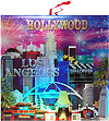 Los Angeles & Hollywood Souvenir Trivet