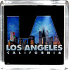 Los Angeles City Skyline Acrylic Magnet