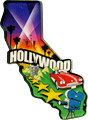 Hollywood Large Acrylic Magnet