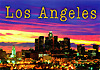 Los Angeles City Skyline Postcard, 4L x 6W